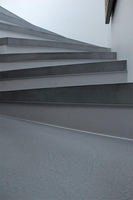 sichtbodentreppe aus beton